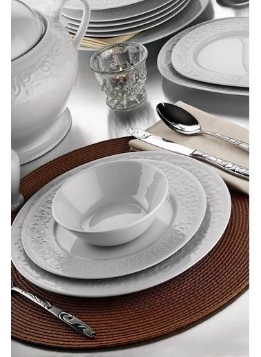 Kütahya Porselen Açelya Yemek Takımı Seti 36 Prç. Renkli